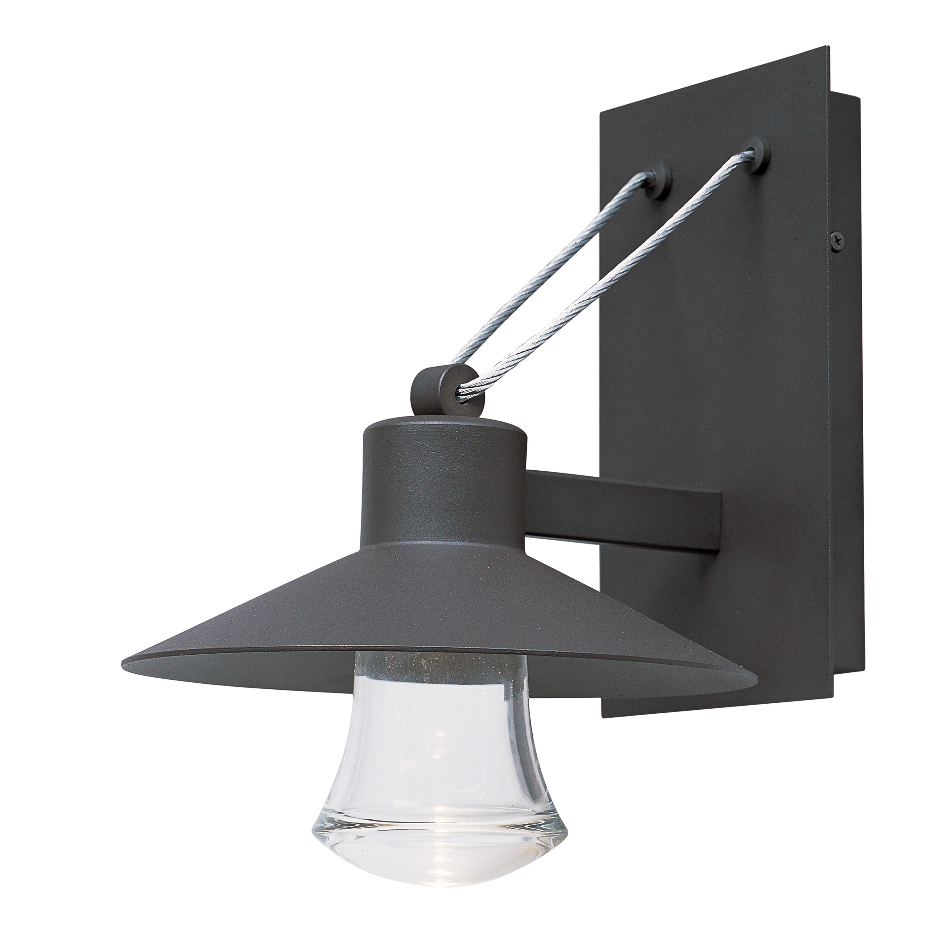 Civic led 1 light medium outdoor wall lantern outdoor wall mount civic mozeypictures Choice Image