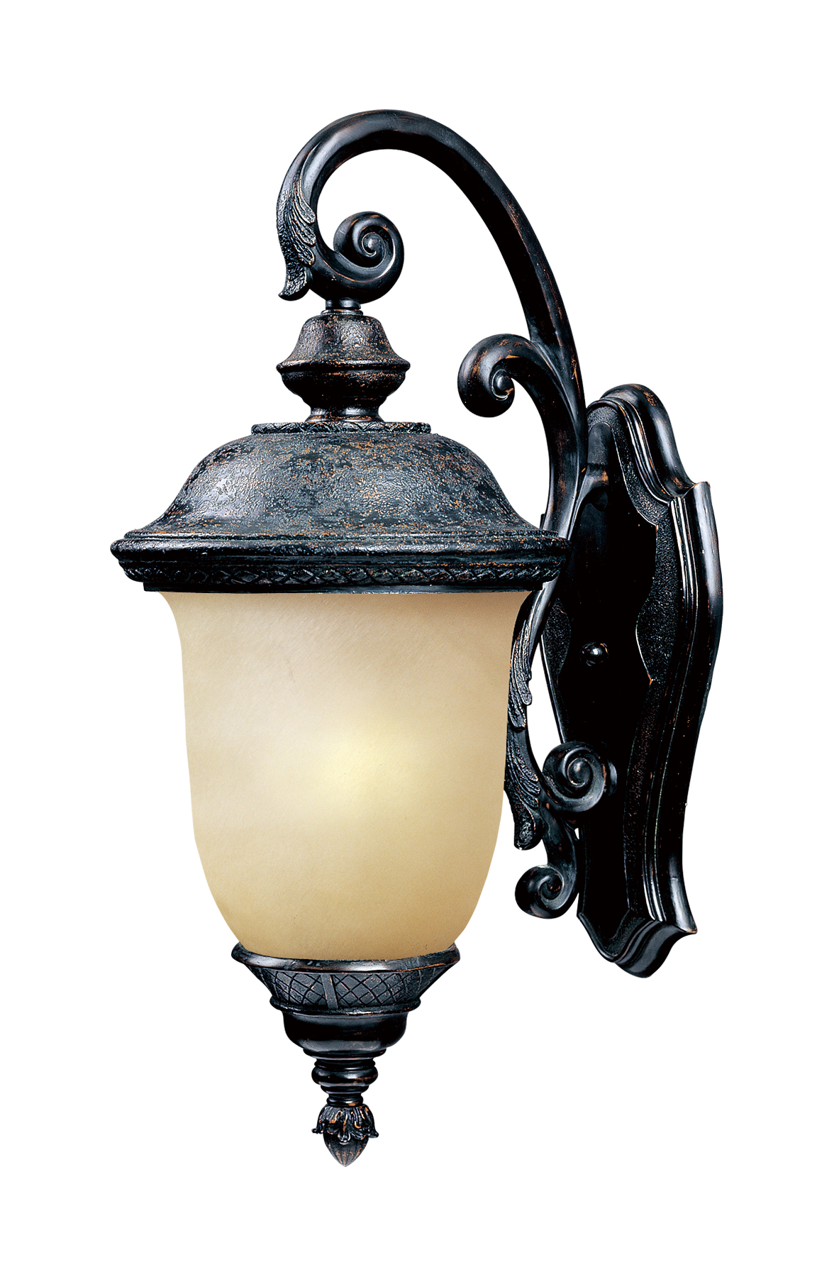 Image of: Carriage House Led 1 Light Outdoor Wall Lantern Outdoor Wall Mount Maxim Lighting