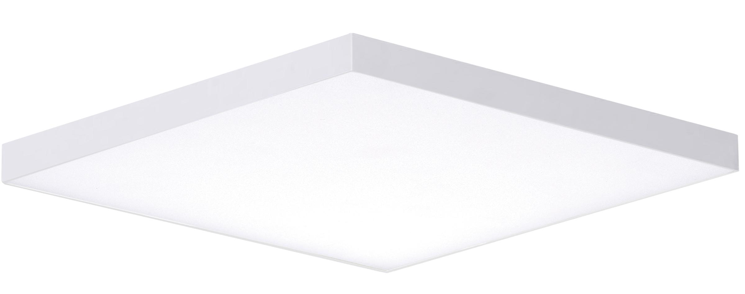 Trim 15.5-inch Square LED Flush Mount 3000K | Maxim Lighting