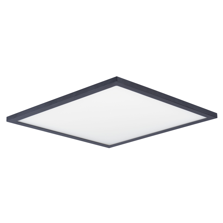 Wafer 15-inch Square LED Flush Mount 3000K | Maxim Lighting