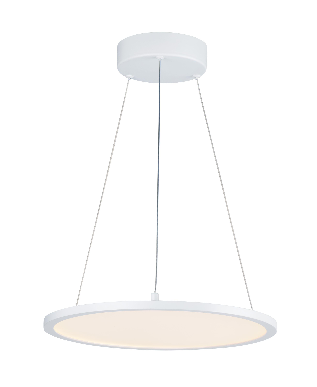 Wafer 15-inch Round LED Pendant 3000K | Maxim Lighting