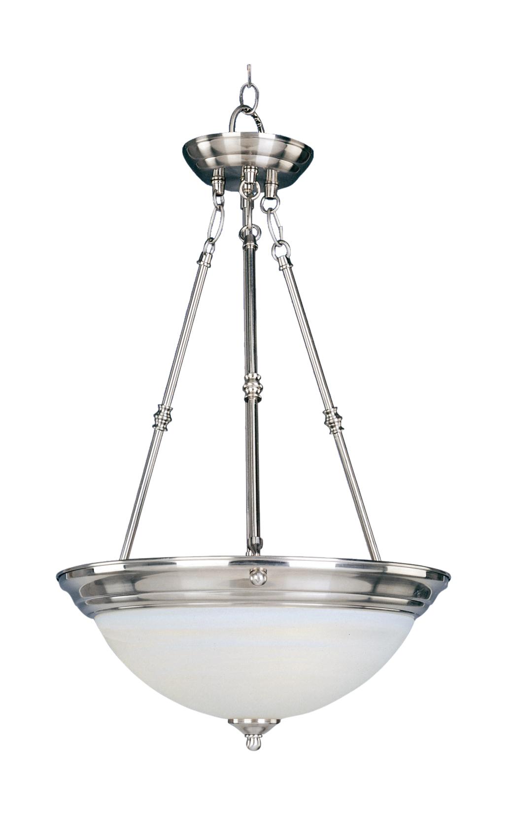 Essentials 3-Light Invert Bowl Pendant | Maxim Lighting