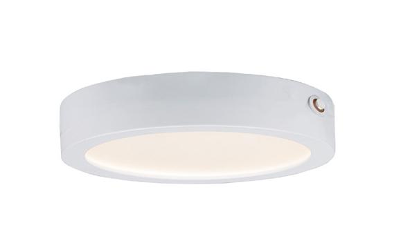 Wafer 7-inch Round LED Surface Mount 3000K EM Backup | Maxim Lighting