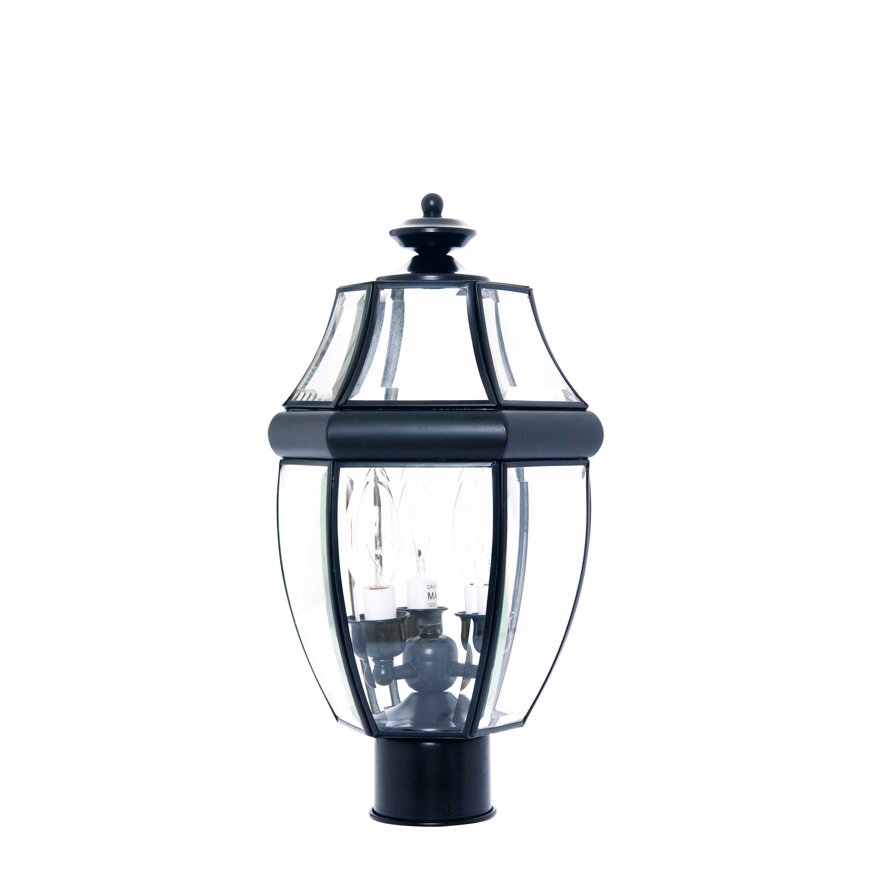 South Park 3-Light Outdoor Post Lantern | Maxim Lighting