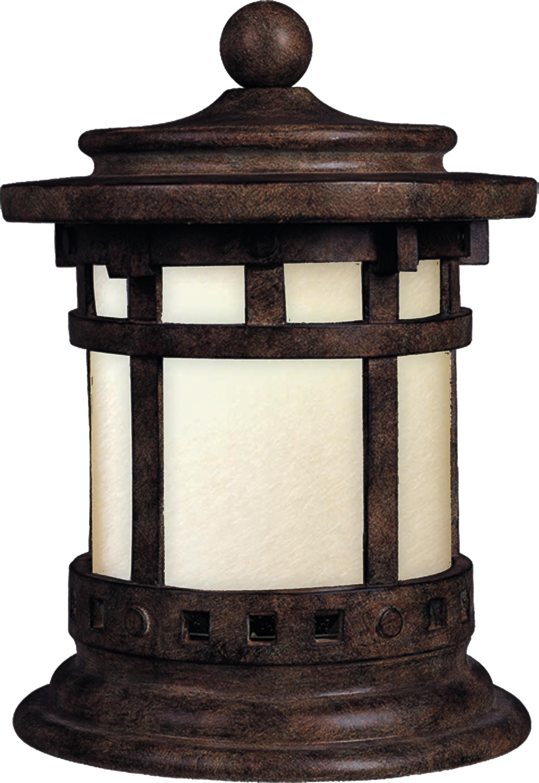 Santa Barbara LED Outdoor Deck Lantern | Maxim Lighting
