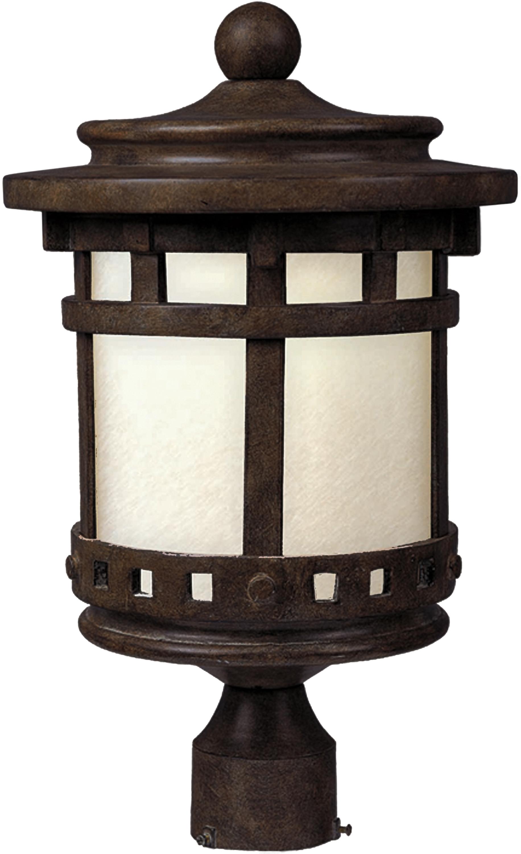 Santa Barbara LED Outdoor Post Lantern | Maxim Lighting