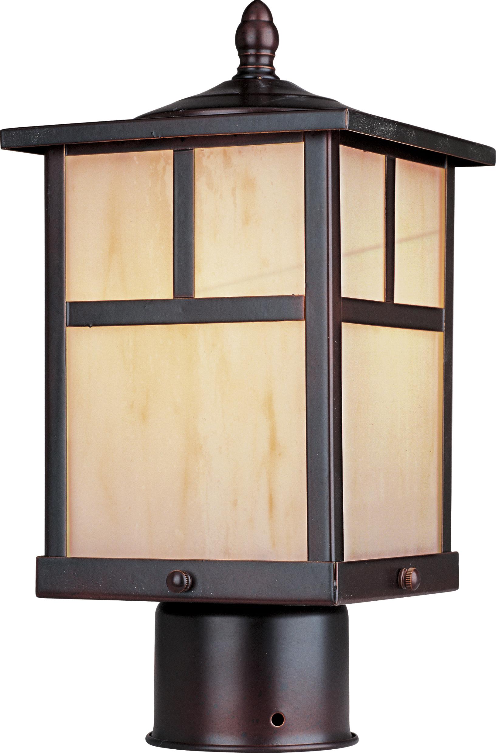 Coldwater LED Outdoor Post Lantern | Maxim Lighting