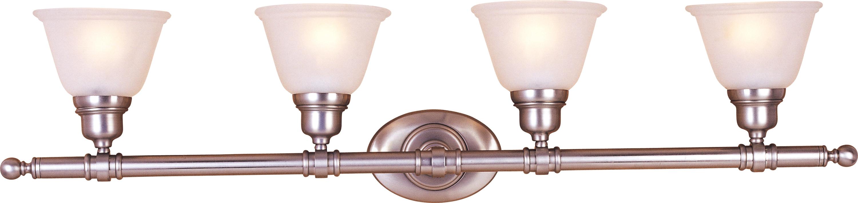 Essentials 4-Light Bath Vanity   Maxim Lighting