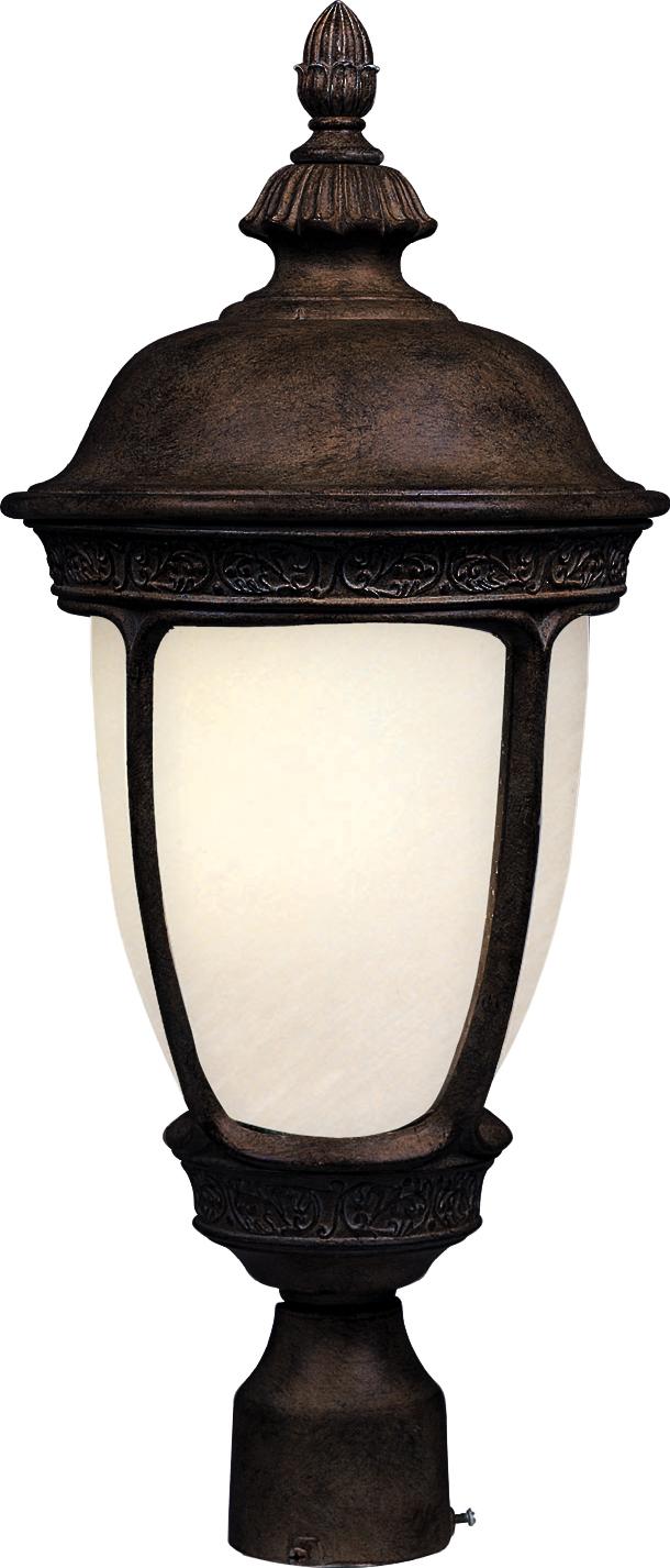 Knob Hill Ee 1 Light Outdoor Pole Post Lantern 85460sfse