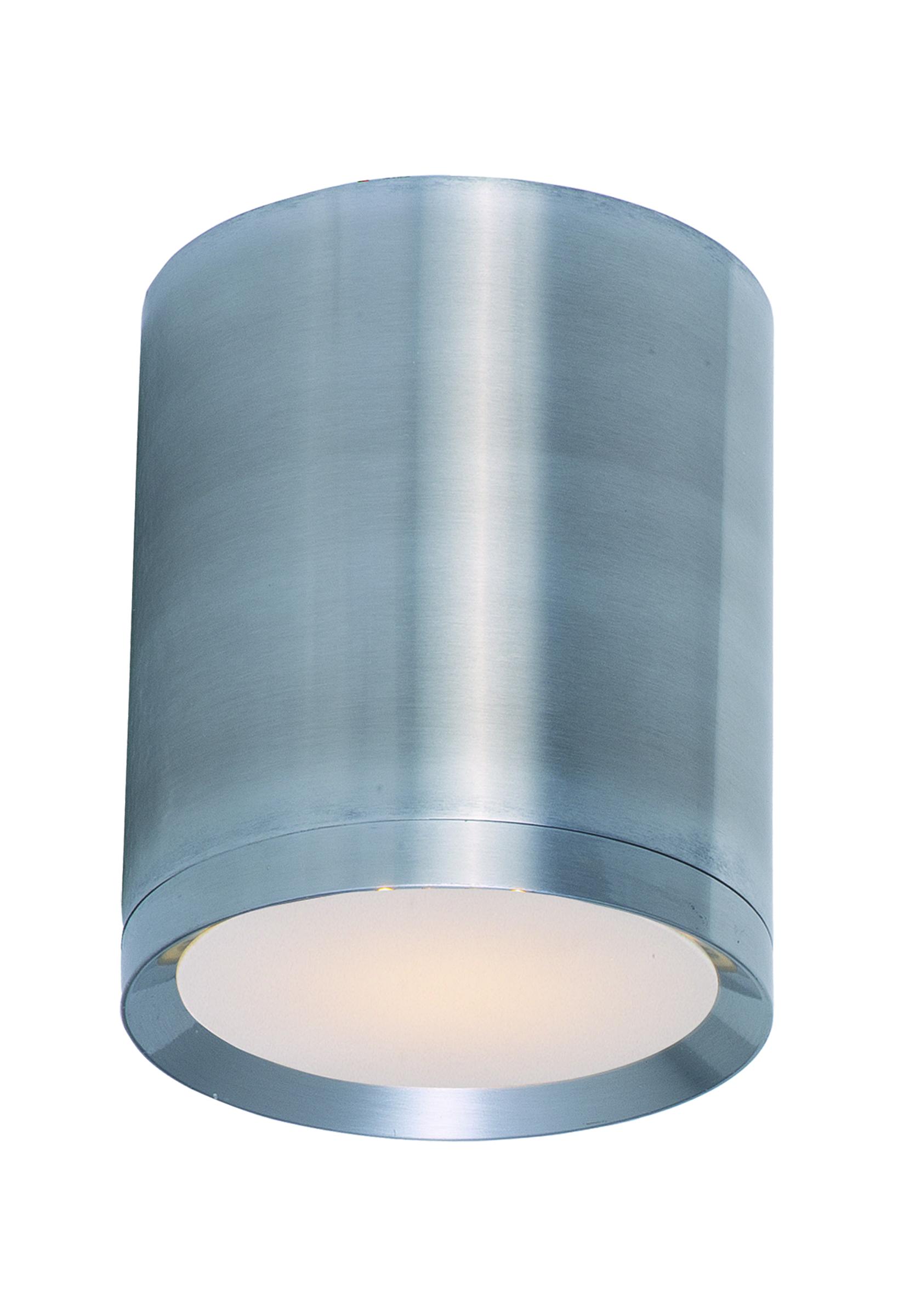 Lightray led 1 light flush mount outdoor maxim lighting for Exterior flush mount light fixtures