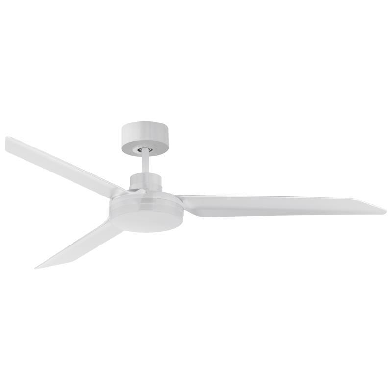 Ultra Slim 52-inch Outdoor Fan White | Maxim Lighting
