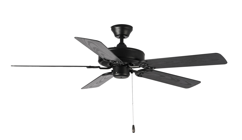 Basic-Max 52-inch Ceiling Fan Black Walnut Blades | Maxim Lighting