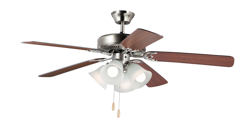 Basic-Max 52-inch Ceiling Fan FKT210FTSN | Maxim Lighting