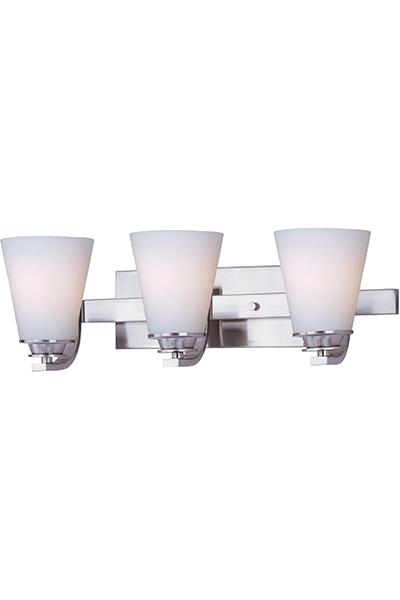 Conical 3-Light Bath Vanity | Maxim Lighting