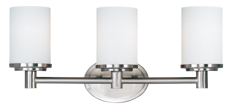 Cylinder 3-Light Bath Vanity - Bath Vanity - Maxim Lighting