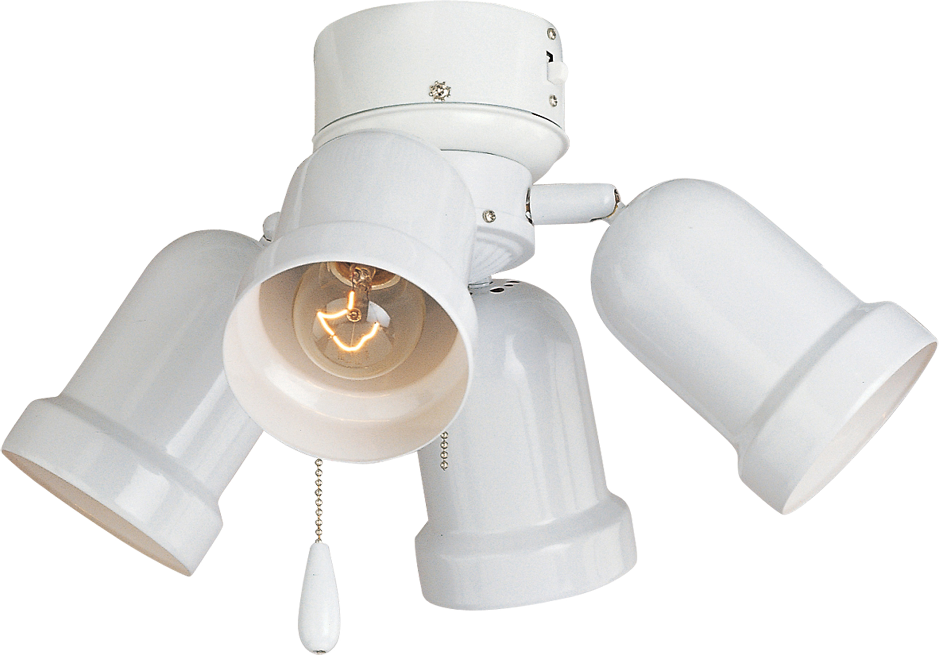 Ceiling Fan Light Kit 4 Bulb : Light ceiling fan kit