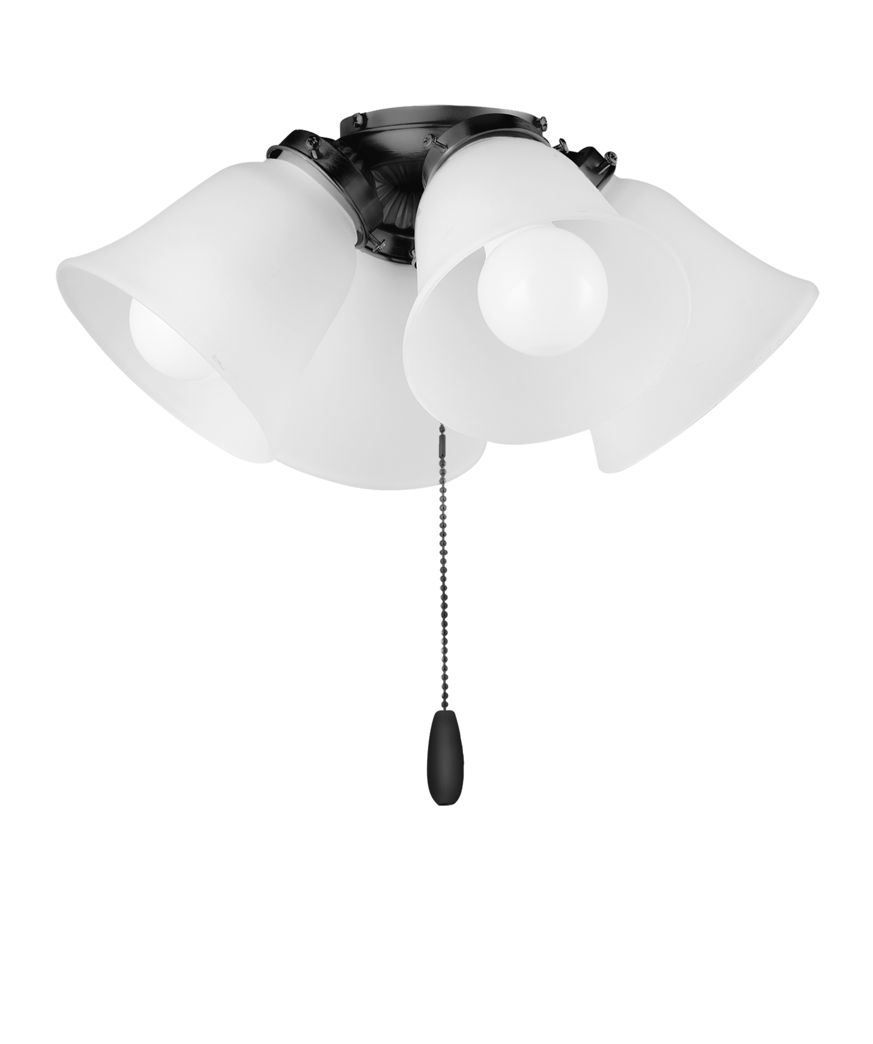 4 Light Led Ceiling Fan Light Kit W Bulbs