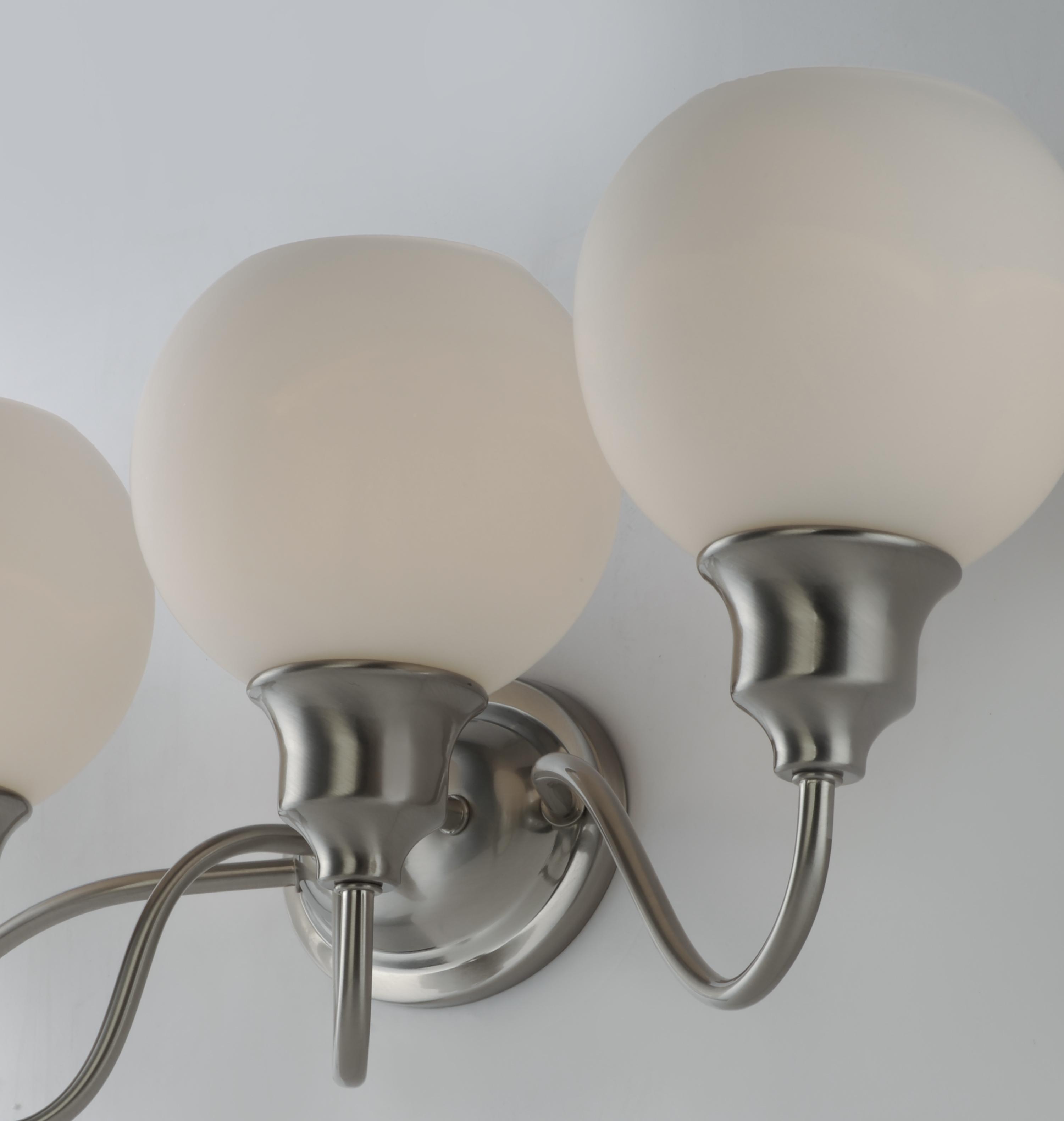 Ballord 3-Light Bath Vanity - Bath Vanity - Maxim Lighting