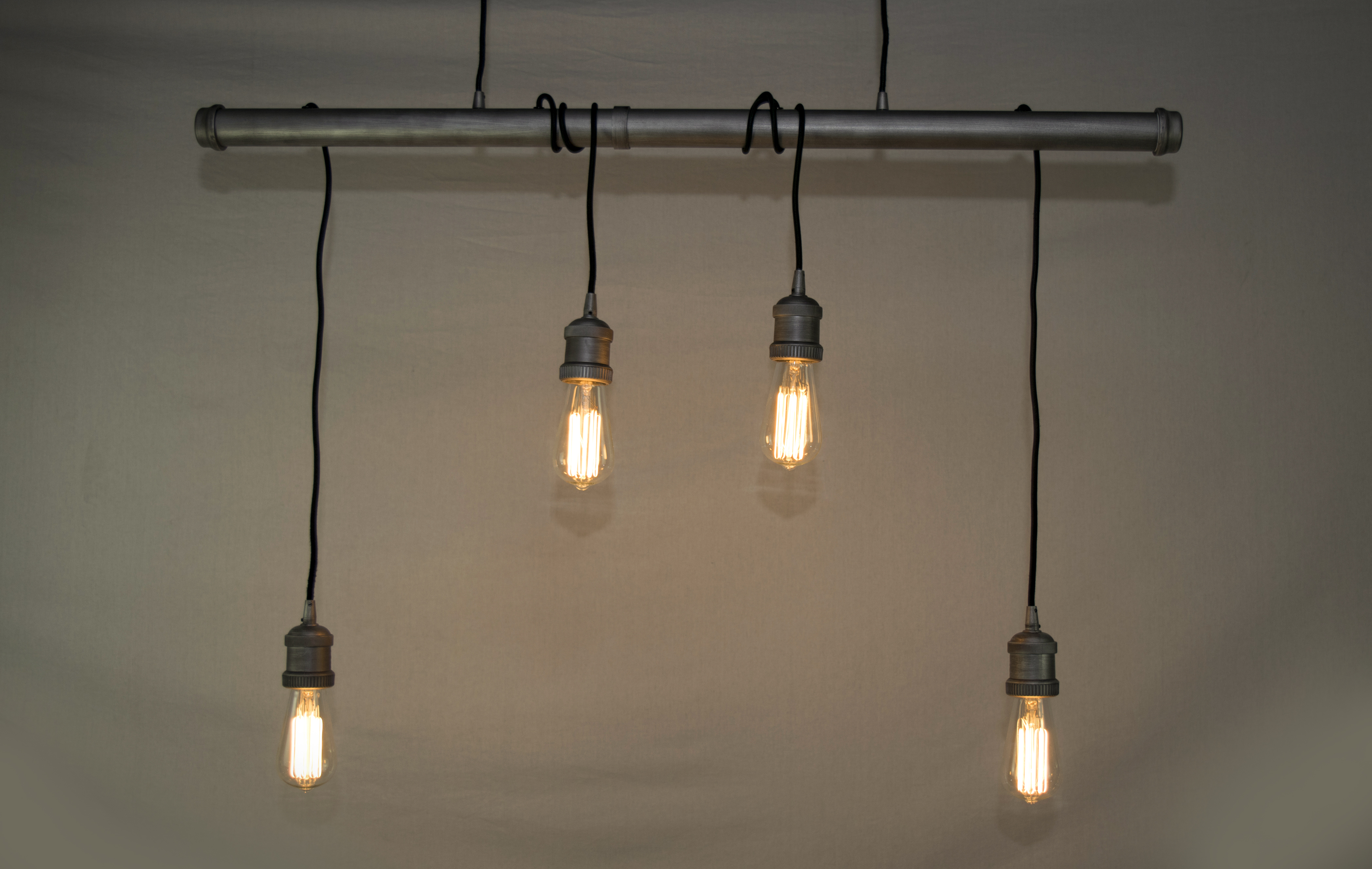 Early Electric 4 Light Pendant