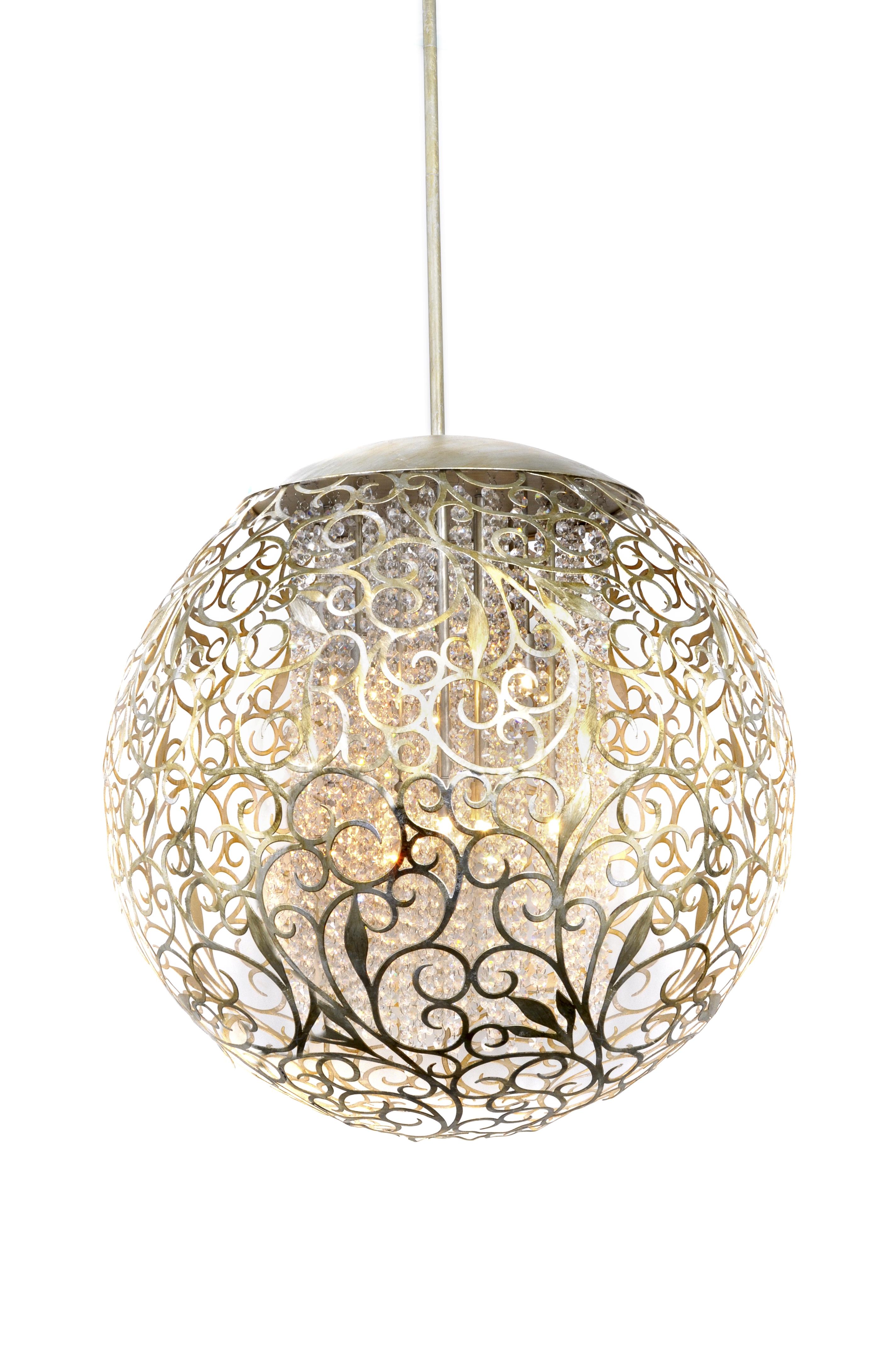 Arabesque 13 Light Pendant Single Pendant Maxim Lighting