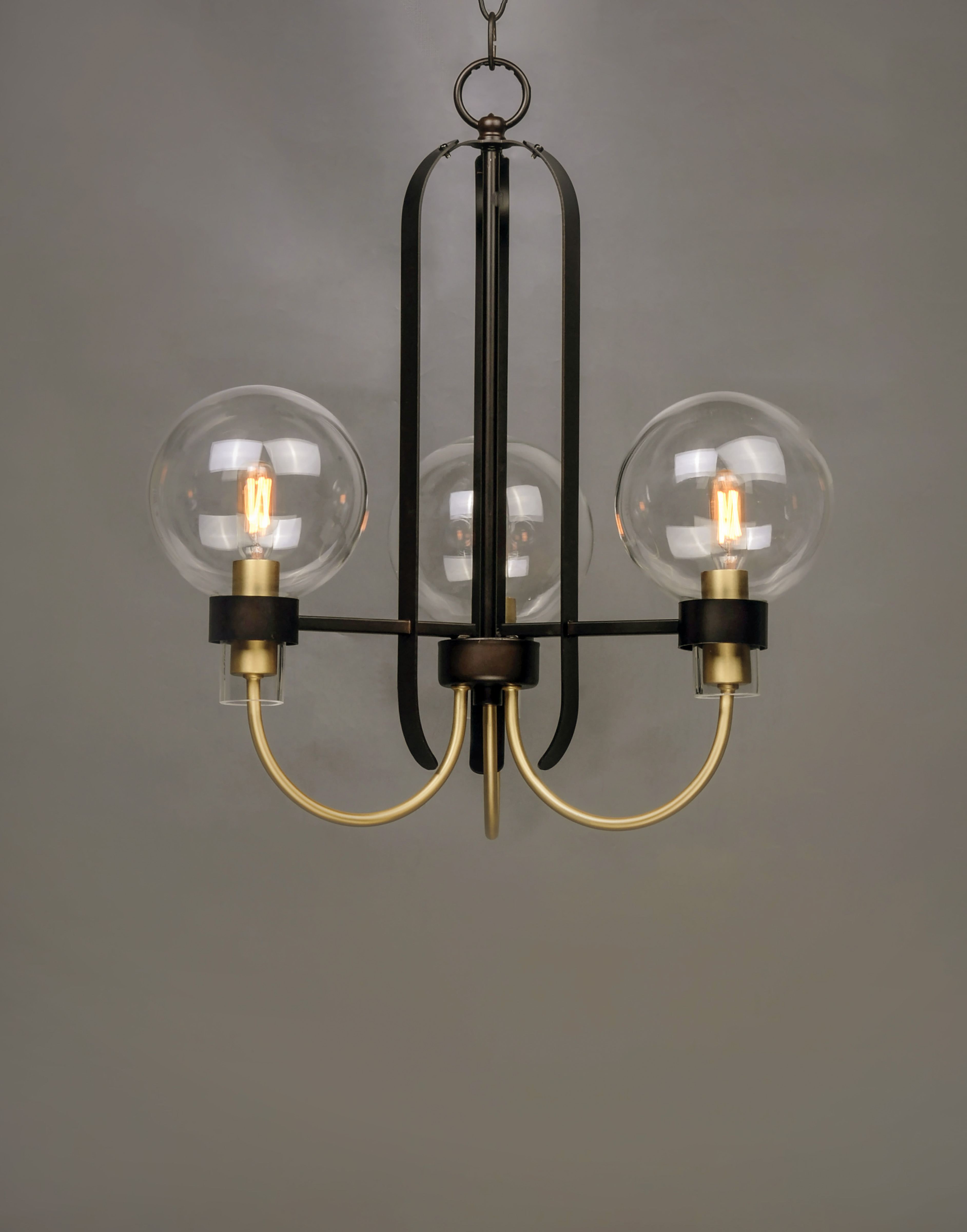 Bauhaus 3 Light Chandelier