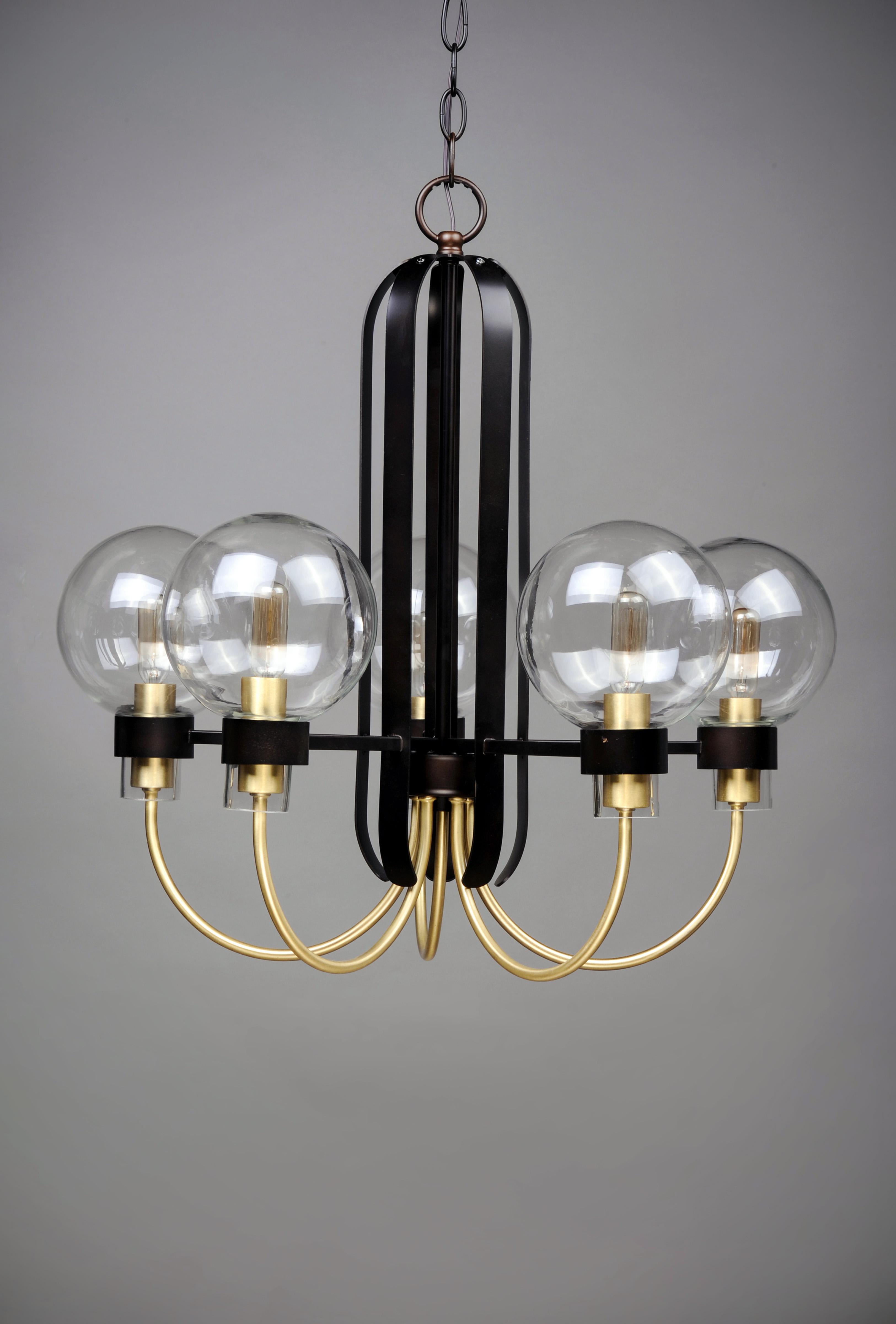 Bauhaus 5 Light Chandelier