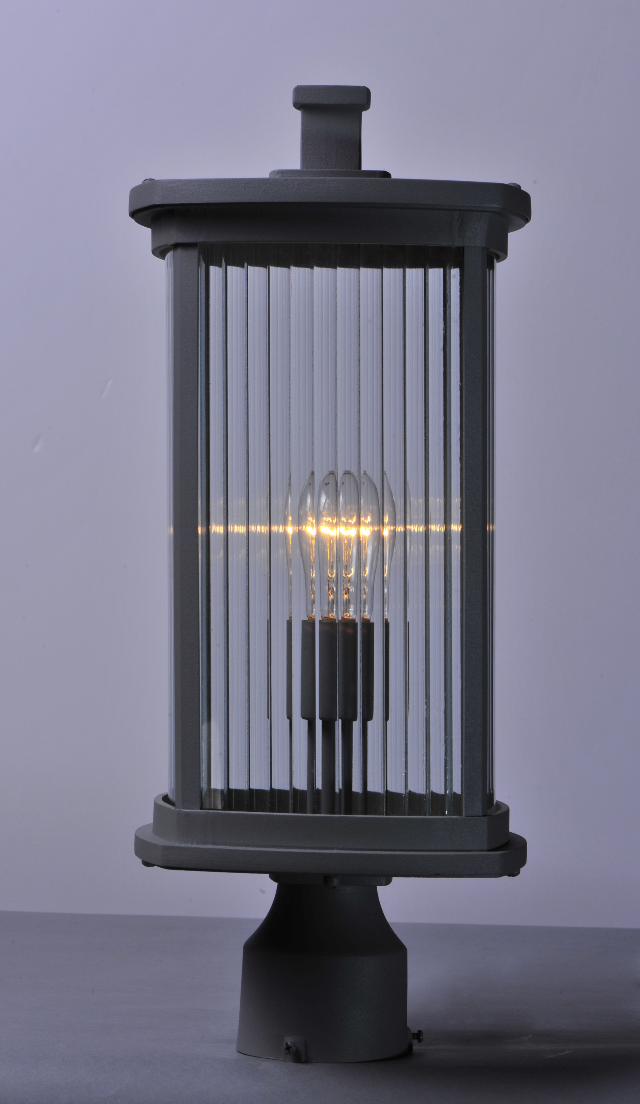 Wall Mounted Lamp Posts : Terrace 1-Light Outdoor Post - Outdoor Wall Mount - Maxim Lighting