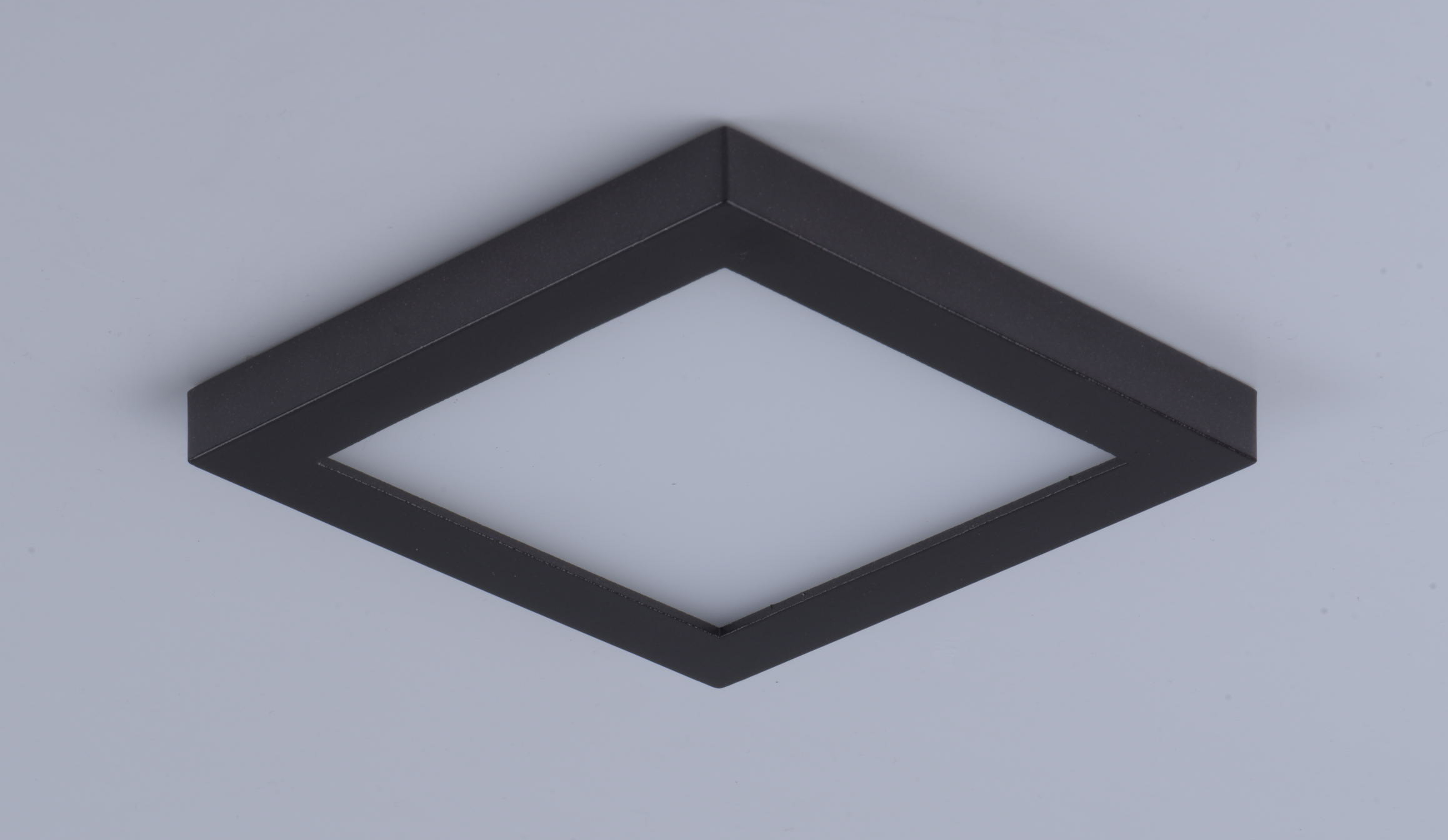 Wafer led 4 5 sq 3000k wall flush mount flush mount for Flush with the wall