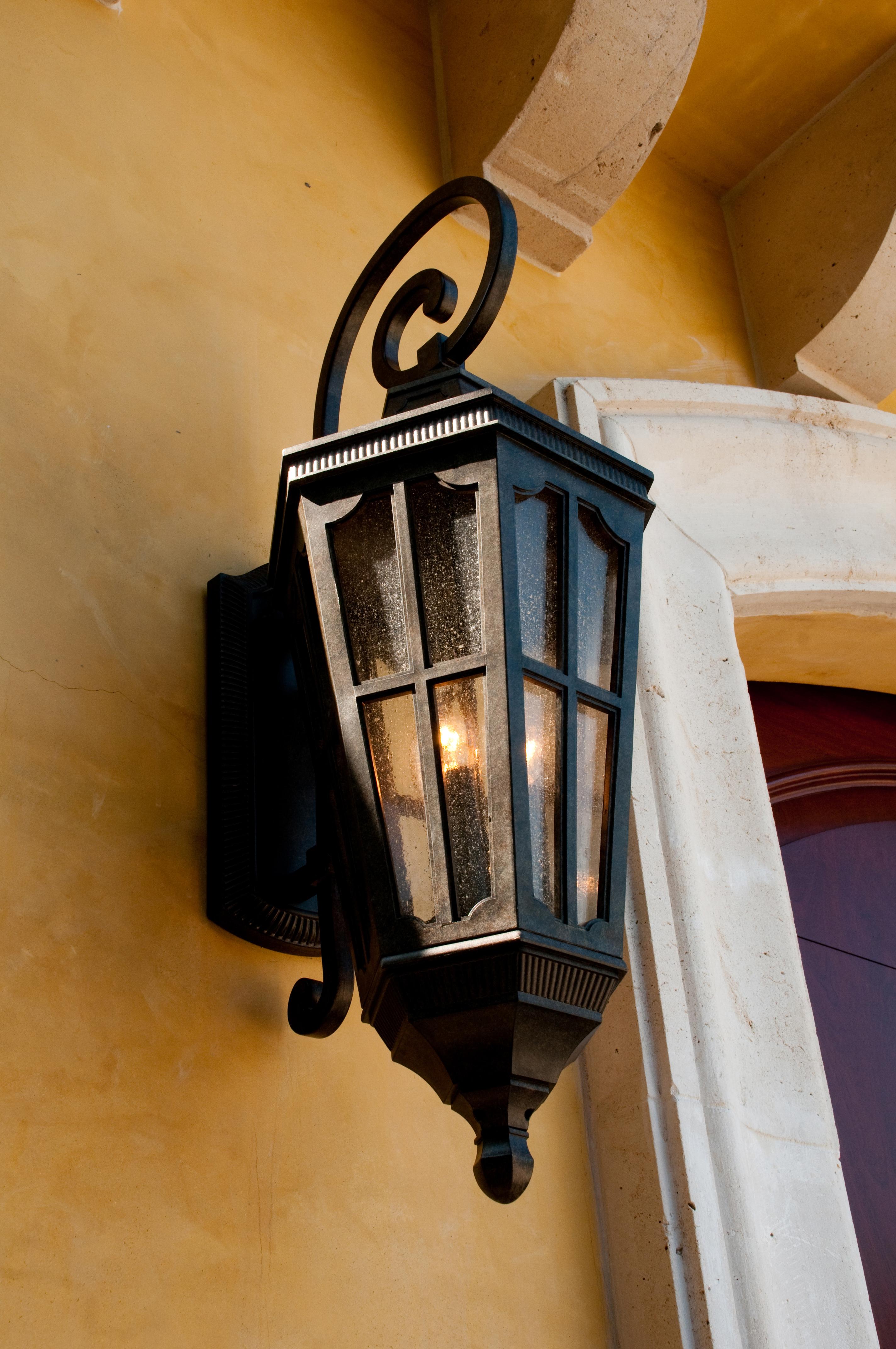 Beacon Lighting Exterior Wall Lights : Beacon Hill VX 3-Light Outdoor Wall Lantern - Outdoor Wall Mount - Maxim Lighting