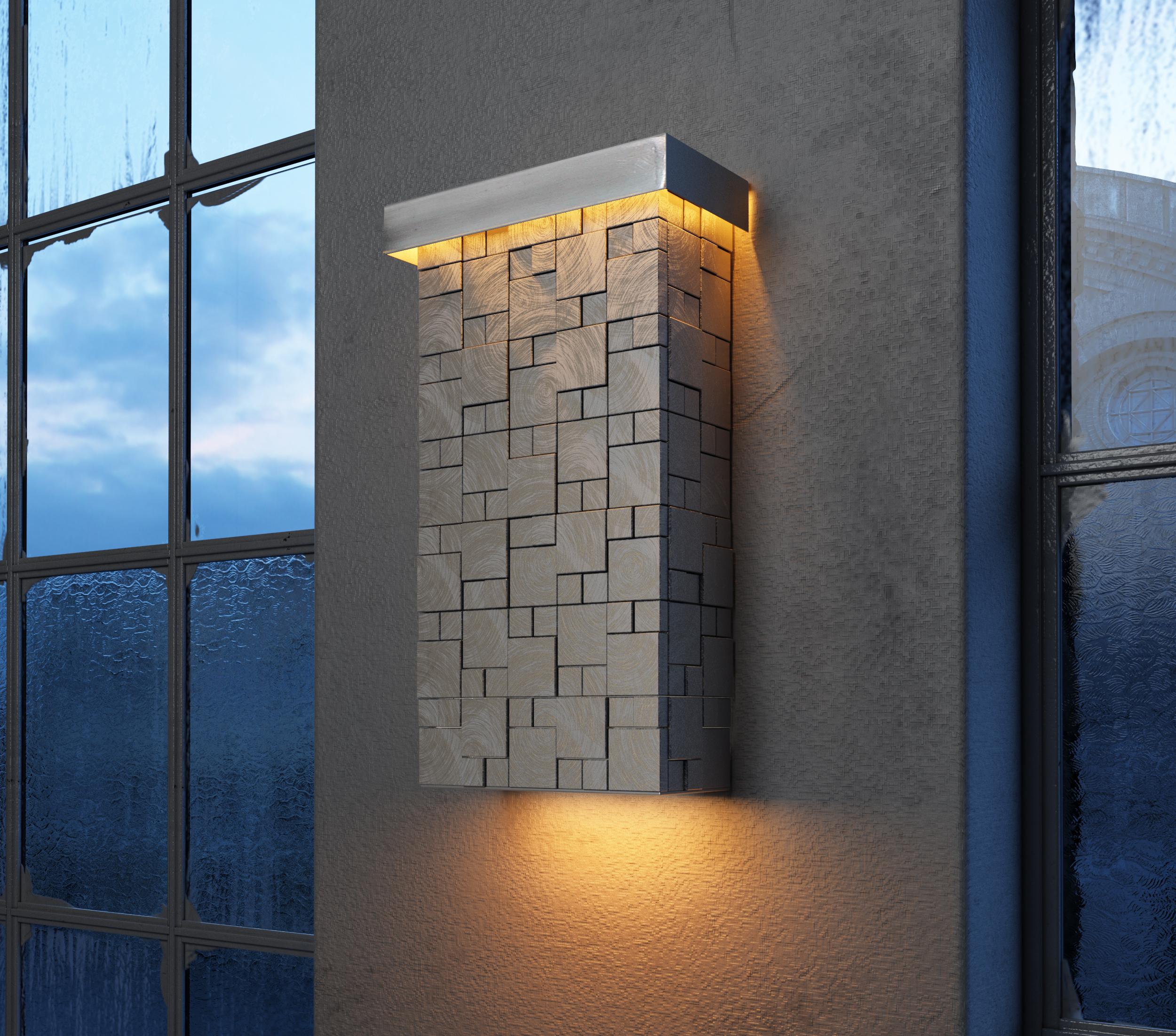 Mosaic led wall sconce wall sconce maxim lighting mosaic led wall sconce amipublicfo Images