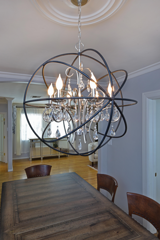 Orbit 6 Light Pendant