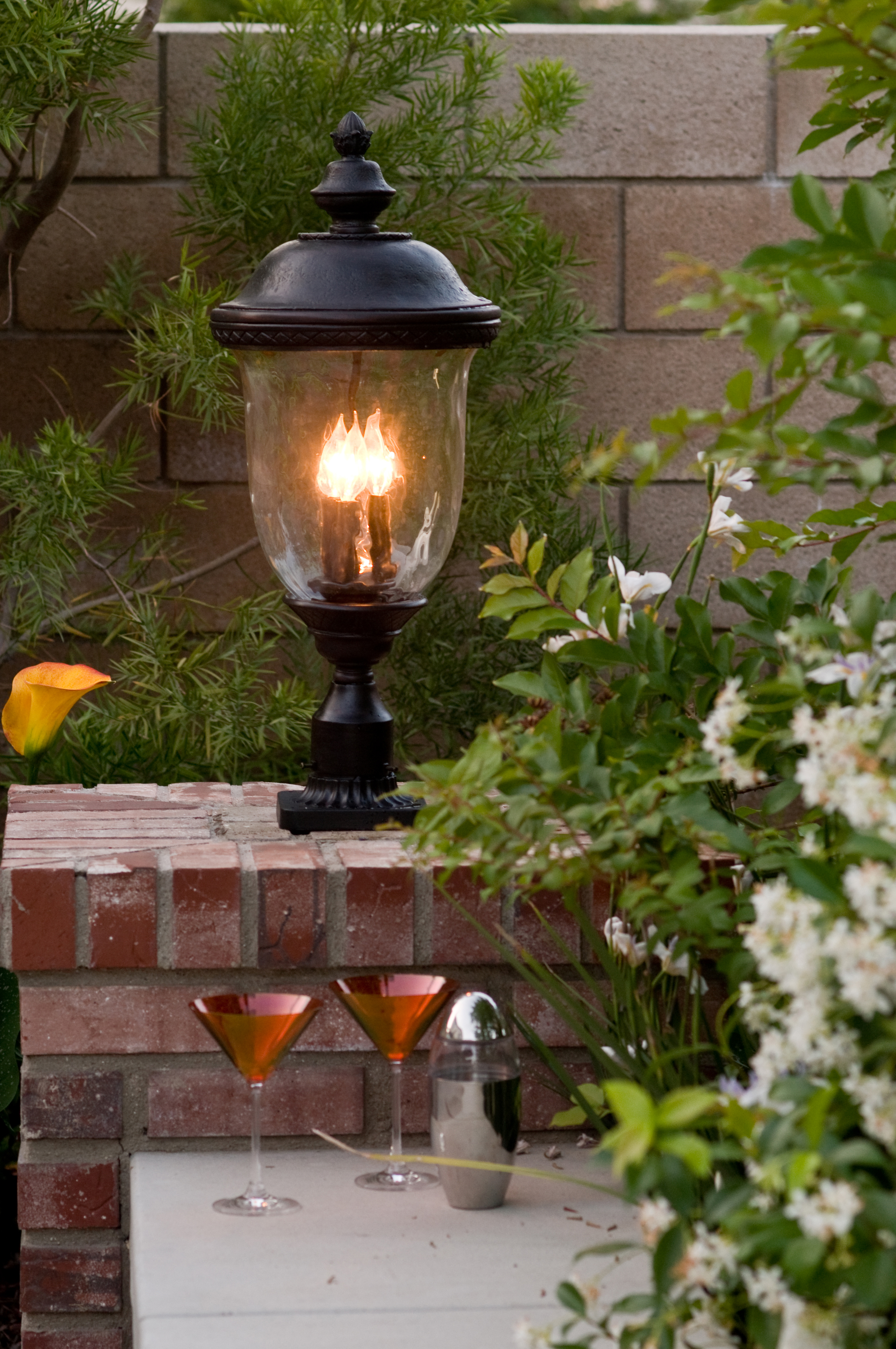Carriage House Dc 3 Lt Outdoor Pole Post Lantern Outdoor