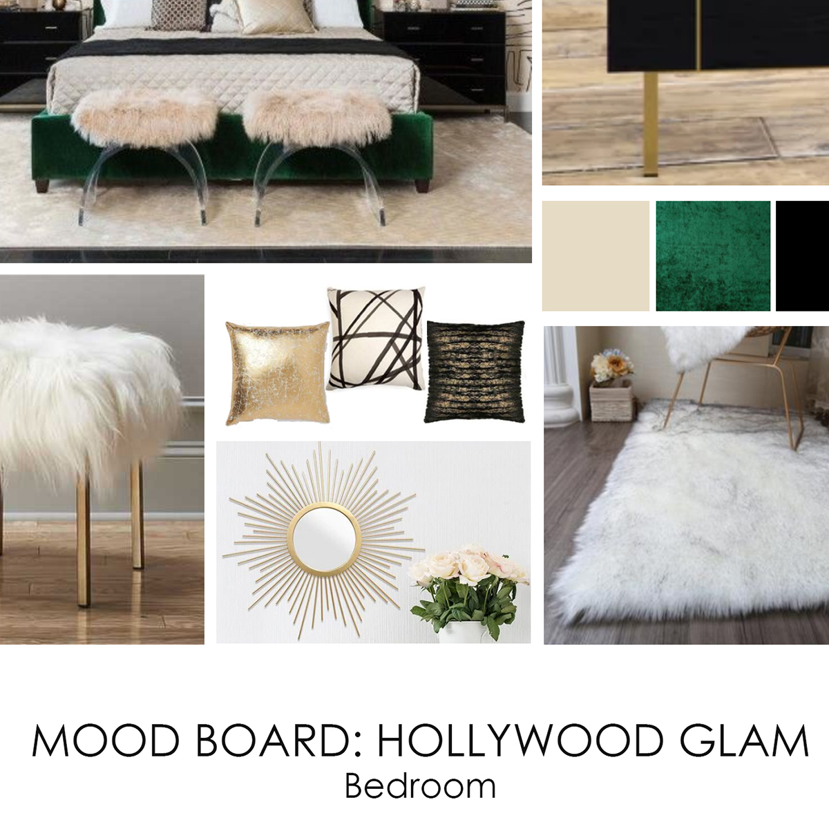 Hollywood Glam Bedroom