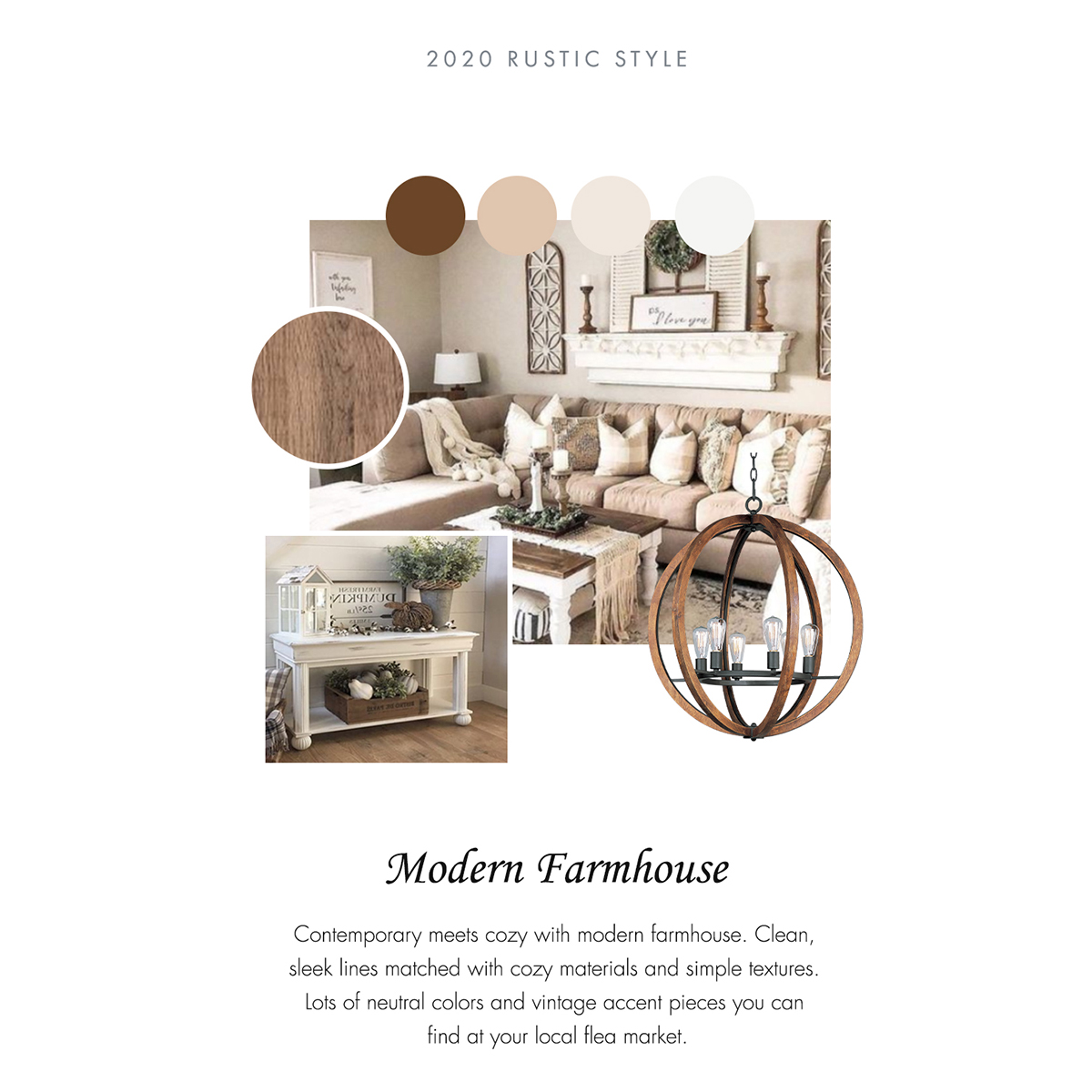 Rustic - Modern Farmhouse