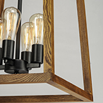 Black Forest 4-Light Chandelier