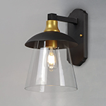 Crib LED 1-Light Outdoor Wall Sconce