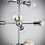 Molecule 9-Light Pendant