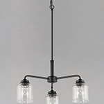 Acadia 3-Light Semi-Flush Mount/Chandelier