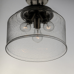 Acadia 3-Light Semi-Flush Mount