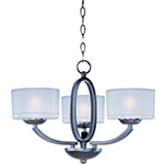 Elle 3-Light Semi-Flush Mount/Chandelier