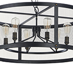Palladium 6-Light Chandelier