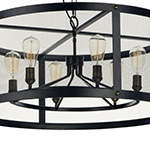 Palladium 5-Light Chandelier