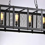 Palladium 4-Light Linear Pendant