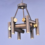 Tubular 7 Light LED Pendant