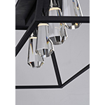 Silhouette 4 Light LED Linear Pendant