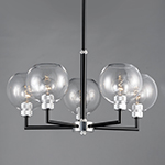 Vessel 5-Light Chandelier