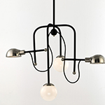 Mingle LED 4-Light Chandelier