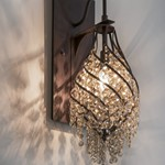 Twirl 1-Light Wall Sconce