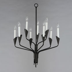Calyx 9-Light Chandelier