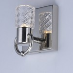 Crystol 1-Light LED Wall Sconce